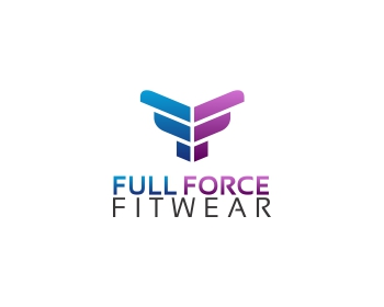 Full force fitwear logo design