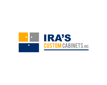 Ira's Custom Cabinets, Inc. logo design