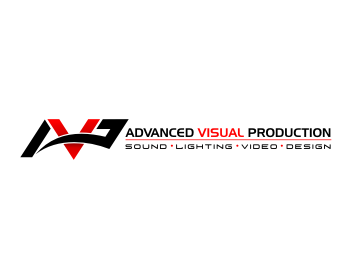 Advanced Visual Production logo design