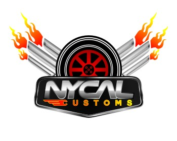 NYCAL Customs logo design