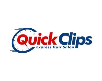 Quick Clips logo design