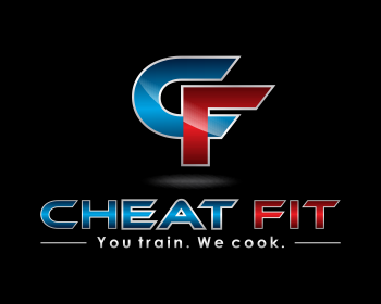 Cheat Fit logo design
