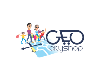 geo-cityshop logo design