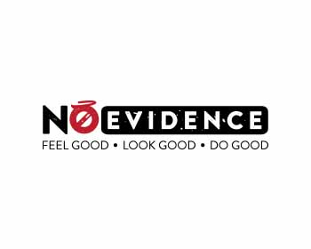 No Evidence logo design