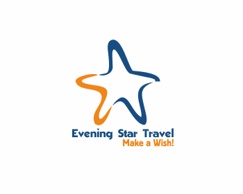 Evening Star Travel logo design