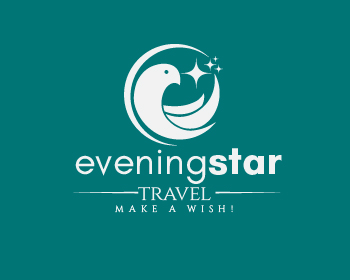Logo design for Evening Star Travel