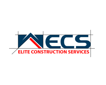 Elite Construction Services logo design