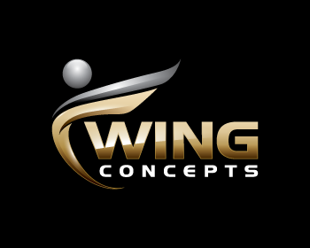 Wing Concepts logo design