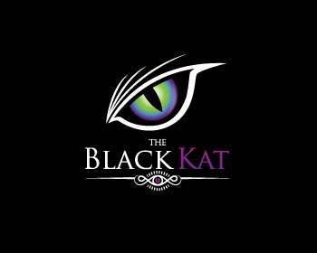 Logo design for The Black Kat