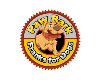 Paw Bark logo design