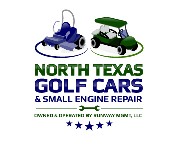 North Texas Golf Cars & Small Engine Repair logo design