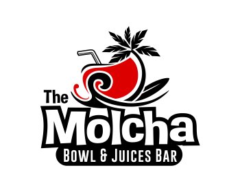 The Molcha   Bowl & Juices Bar logo design
