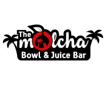 Logo design for The Molcha   Bowl & Juices Bar