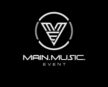 Main.Music.Event logo design