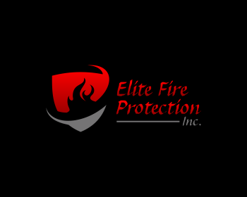 Elite Fire Protection, Inc. logo design