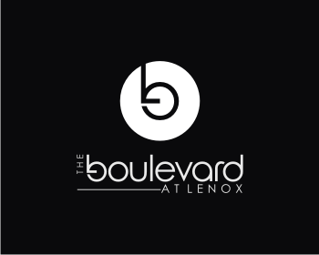 The Boulevard at Lenox logo design