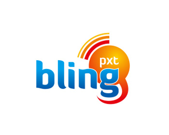 Bling PXT logo design