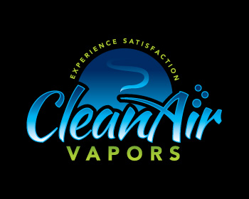 Clean Air Vapors logo design