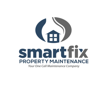 Smartfix Property Maintenance logo design