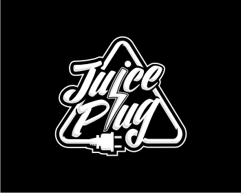 juice plug logo design