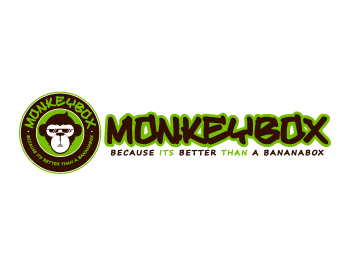 Monkey Box logo design