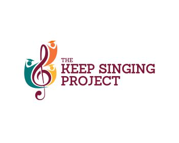 The Keep Singing Project logo design