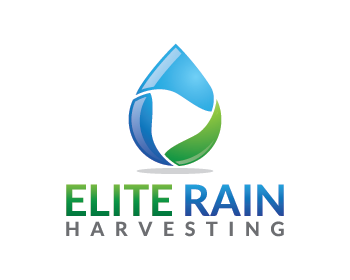 Elite Rain Harvesting logo design