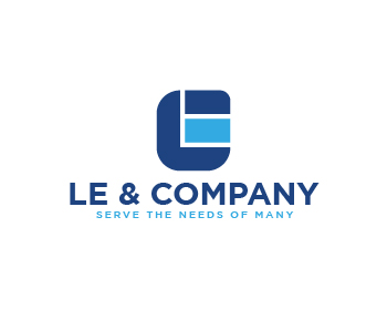 Logo design for Le & Company