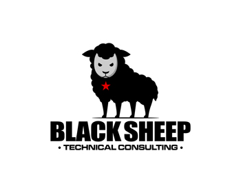 Logo design for Black Sheep Technical Consulting