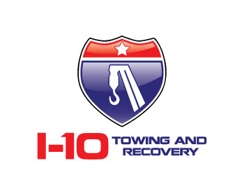 I-10 Towing And Recovery logo design