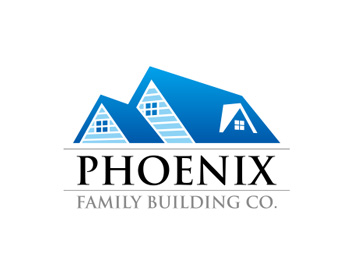 Phoenix Family Building Co. logo design