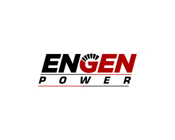 Engen Power logo design