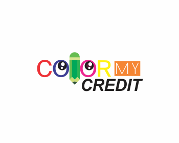 Color My Credit logo design