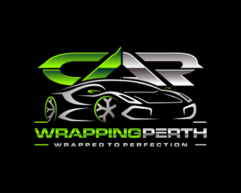 Car Wrapping Perth logo design