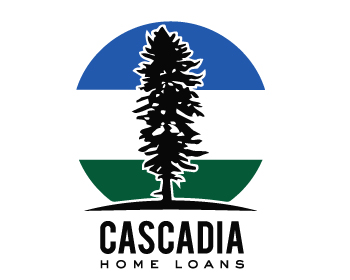 Logo design for Cascadia Home Loans