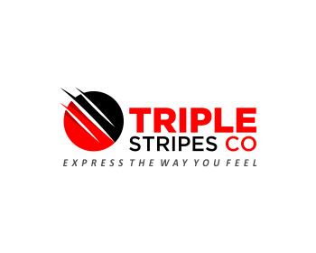 TRIPLE STRIPES CO logo design
