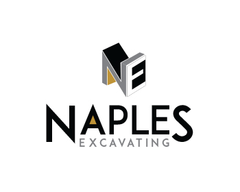 Naples Excavating logo design