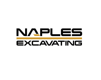 Logotipo Naples Excavating
