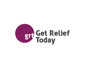 Get Relief Today logo design