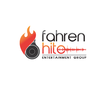 FahrenHITE Entertainment Group logo design