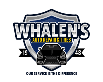 Whalen's Auto Repair & Tires logo design