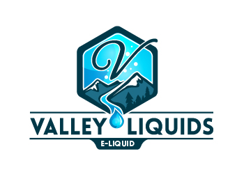 Valley Liquids logo design