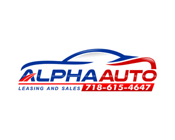 Alpha Auto logo design