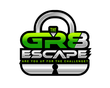 The Gr8 Escape logo design