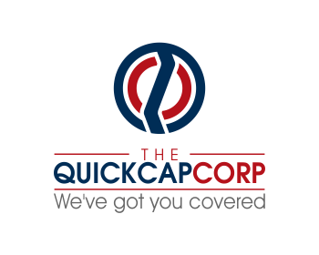 The Quick Cap Corp logo design