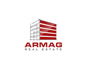 ARMAG REAL ESTATE logo design