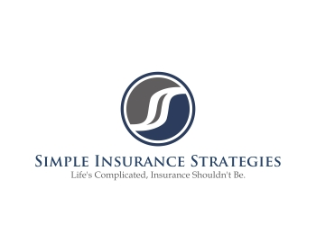 Simple Insurance Strategies logo design
