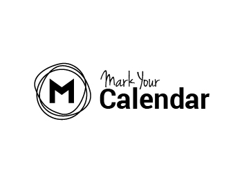 Mark Your Calendar logo design