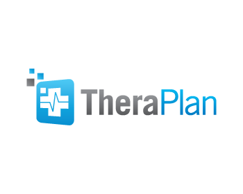 TheraPlan logo design