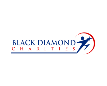 Logo design for Black Diamond Charities